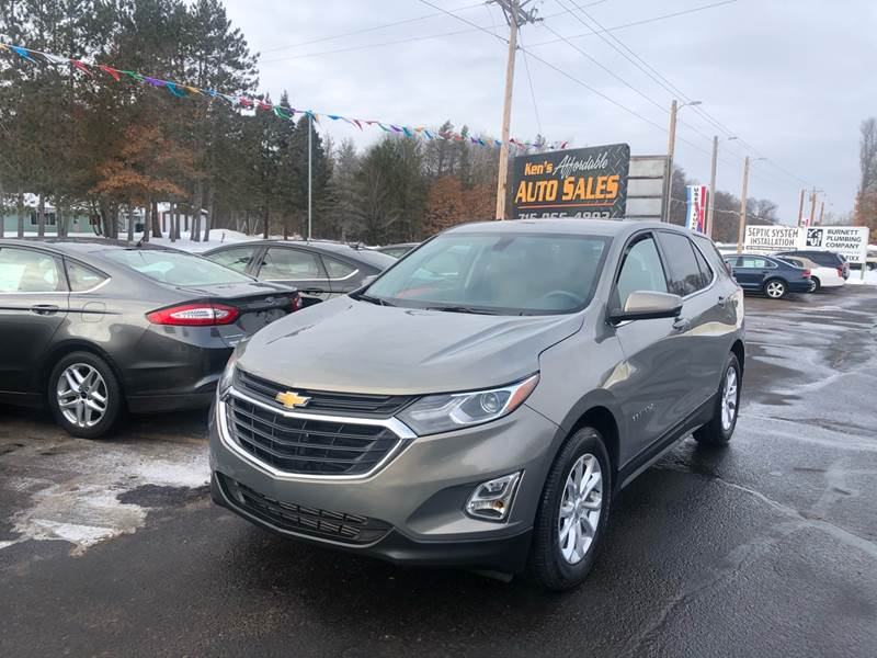 2018 Chevrolet Equinox for sale at Affordable Auto Sales in Webster WI