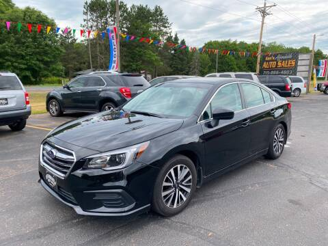 2018 Subaru Legacy for sale at Affordable Auto Sales in Webster WI