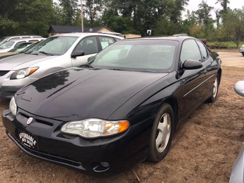 2000 Chevrolet Monte Carlo for sale in Webster, WI