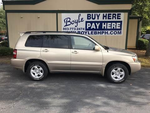 2007 Toyota Highlander for sale in Sumter, SC