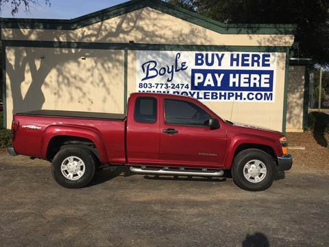 2004 GMC Canyon for sale in Sumter, SC