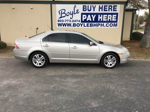 2008 Ford Fusion for sale in Sumter, SC
