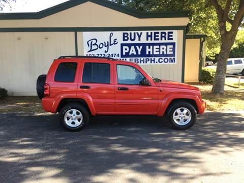 2002 Jeep Liberty for sale in Sumter, SC