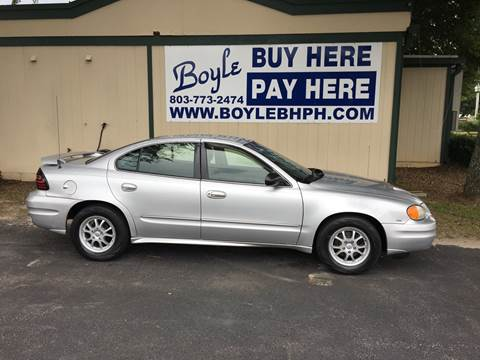 2003 Pontiac Grand Am for sale in Sumter, SC