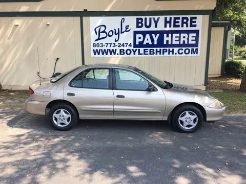 2000 Chevrolet Cavalier for sale in Sumter, SC