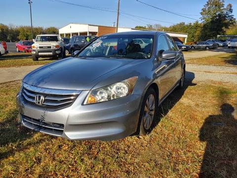 2011 Honda Accord EX-L for sale at Ray Moore Auto Sales in Graham NC