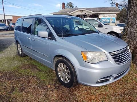 2013 Chrysler Town and Country Touring for sale at Ray Moore Auto Sales in Graham NC