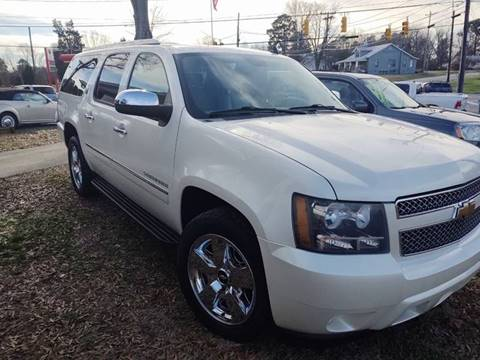 2010 Chevrolet Suburban LTZ 1500 for sale at Ray Moore Auto Sales in Graham NC