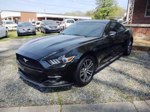 2016 Ford Mustang EcoBoost for sale at Ray Moore Auto Sales in Graham NC