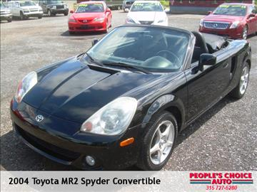 2004 Toyota MR2 Spyder for sale in Central Square, NY