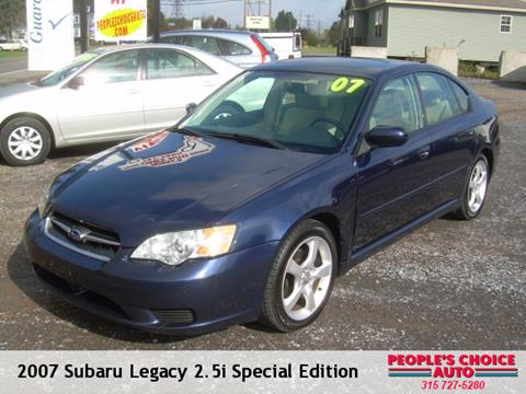 2007 Subaru Legacy for sale in Central Square, NY