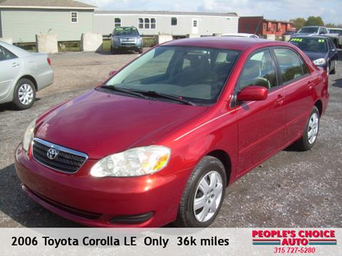 2006 Toyota Corolla for sale in Central Square, NY