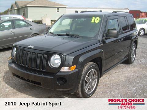 2010 Jeep Patriot for sale in Central Square NY