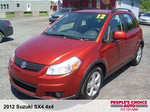 2012 Suzuki SX4 Crossover for sale in Central Square, NY