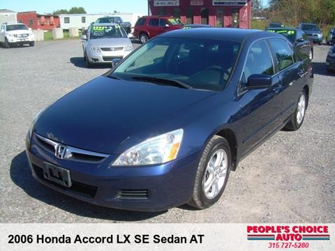 2006 Honda Accord for sale in Central Square, NY