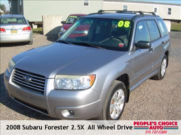 2008 Subaru Forester for sale in Central Square, NY