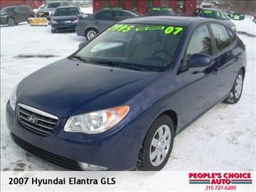 2007 Hyundai Elantra for sale in Central Square, NY