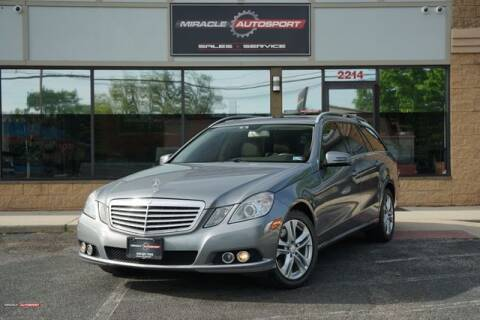 2011 Mercedes-Benz E-Class for sale at Miracle Autosport in Mecerville NJ