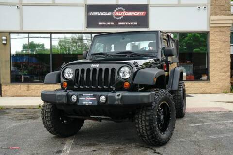 2013 Jeep Wrangler for sale at Miracle Autosport in Mecerville NJ