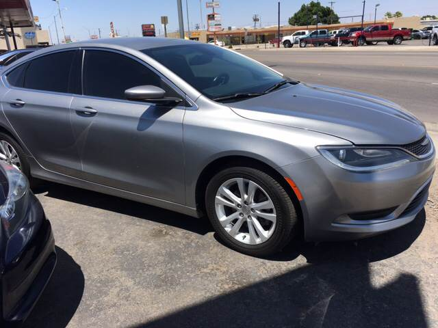 2015 Chrysler 200 Limited 4dr Sedan - Yuma AZ