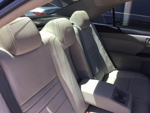 2015 Toyota Camry XLE V6 4dr Sedan - Yuma AZ