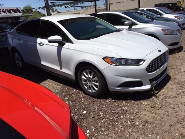 2015 Ford Fusion S 4dr Sedan - Yuma AZ