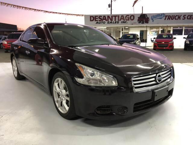 2012 Nissan Maxima 3.5 SV 4dr Sedan In Yuma AZ