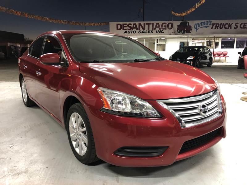 2015 Nissan Sentra SV 4dr Sedan In Yuma AZ