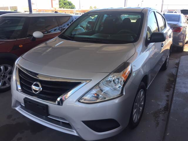 2015 nissan versa 1 6 sv 4dr sedan in yuma az desantiago. Black Bedroom Furniture Sets. Home Design Ideas