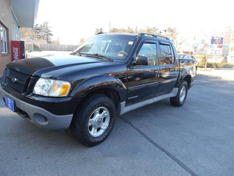 2002 Ford Explorer Sport Trac for sale at Roys Auto Sales & Service in Hudson NH