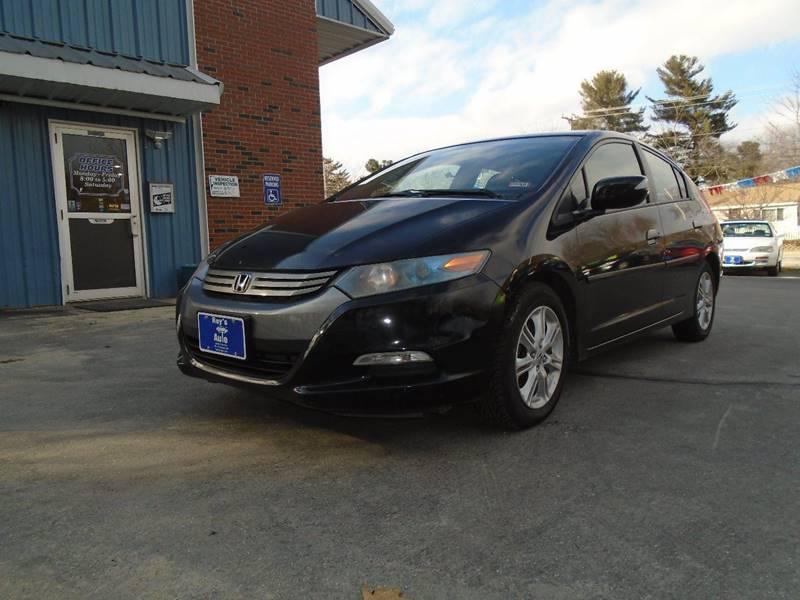 2010 Honda Insight EX 4dr Hatchback W/Navi   Hudson NH