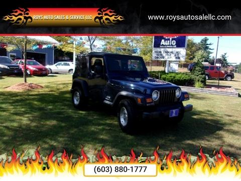 2004 Jeep Wrangler for sale in Hudson, NH