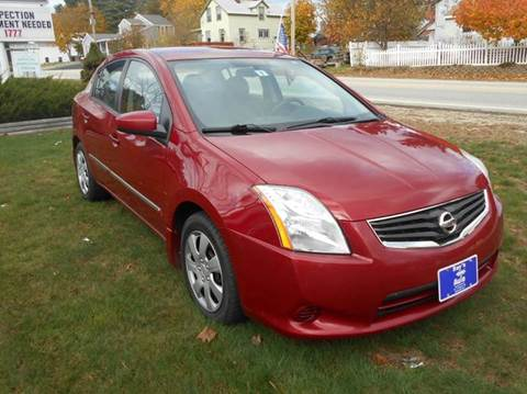 2010 Nissan Sentra for sale at Roys Auto Sales & Service in Hudson NH