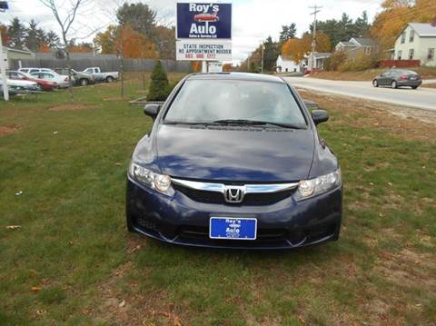 2010 Honda Civic for sale at Roys Auto Sales & Service in Hudson NH