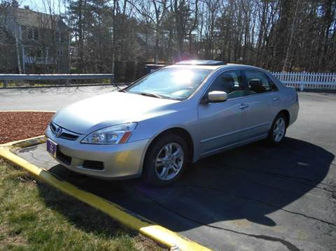 2007 Honda Accord for sale at Roys Auto Sales & Service in Hudson NH