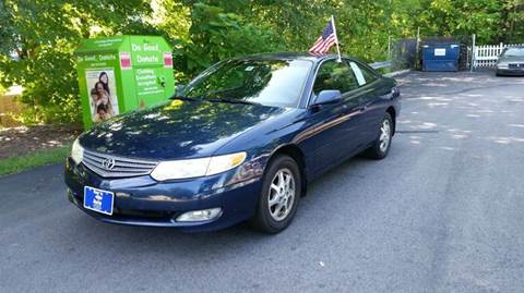 2002 Toyota Camry Solara for sale at Roys Auto Sales & Service in Hudson NH