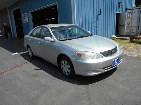 2002 Toyota Camry for sale at Roys Auto Sales & Service in Hudson NH