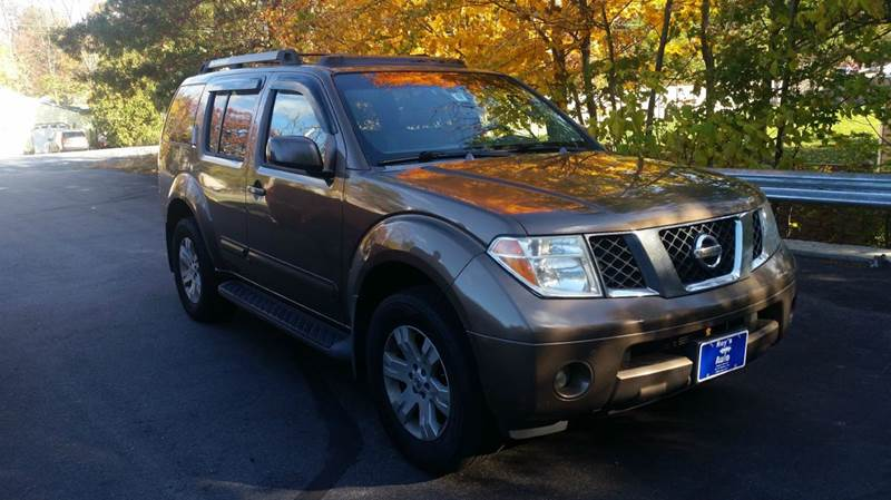 2005 Nissan Pathfinder for sale at Roys Auto Sales & Service in Hudson NH