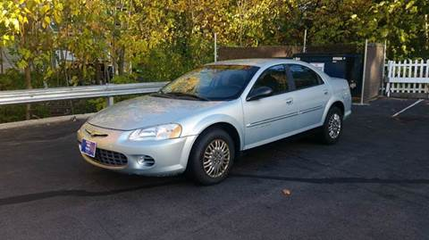 2001 Chrysler Sebring for sale at Roys Auto Sales & Service in Hudson NH