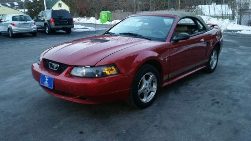 2002 Ford Mustang Deluxe 2dr Convertible - Hudson NH