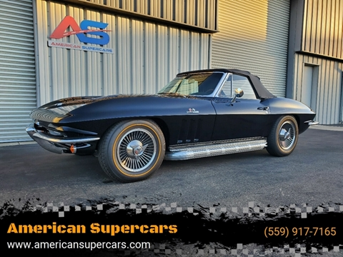 Cars For Sale In Fresno Ca >> 1966 Chevrolet Corvette For Sale In Fresno Ca