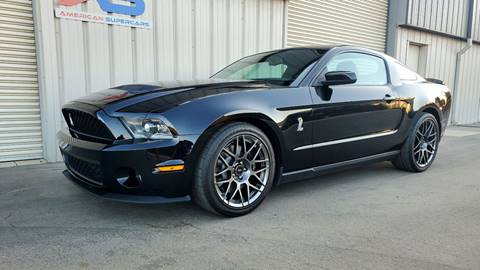 2011 Ford Shelby GT500 for sale in Fresno, CA