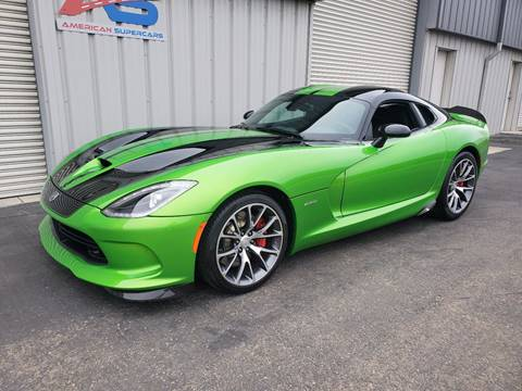 2014 Dodge SRT Viper for sale in Fresno, CA