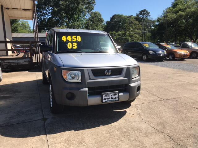 2003 Honda Element Dx 4dr Suv In Baton Rouge La Port City Auto Sales