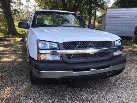 Used Trucks Baton Rouge >> 2003 Chevrolet Silverado 1500 For Sale In Baton Rouge La