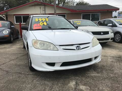 2004 Honda Civic for sale in Baton Rouge, LA