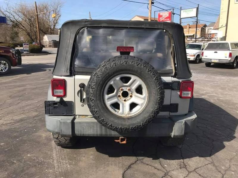 2007 Jeep Wrangler 4x4 X 2dr SUV - Pittsburgh PA