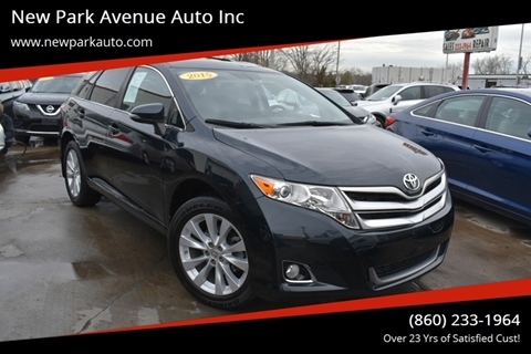 2015 Toyota Venza for sale in Hartford, CT