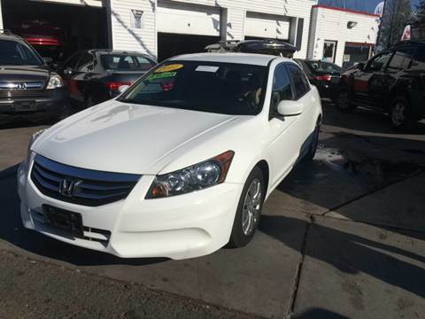 2012 Honda Accord for sale at New Park Avenue Auto Inc in Hartford CT