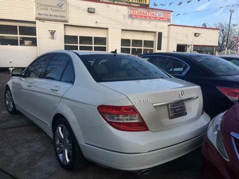 2009 Mercedes-Benz C-Class for sale at New Park Avenue Auto Inc in Hartford CT